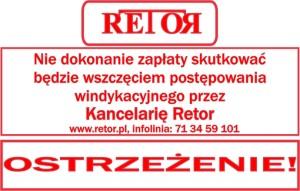 RETOR PIECZATKA